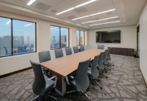 Image of Procopio's new training room in its downtown San Diego office